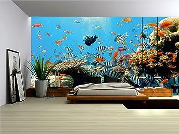 wallpaper mural reef fleece wallpaper wall murals 4