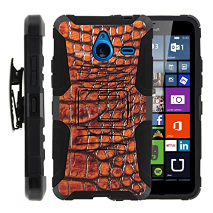 sale retailer 71d6b 2a52e Lumia 640 XL Case, Lumia 640 XL Holster, Two Layer Hybrid Armor Hard Cover  with Built in Kickstand for Microsoft Lumia 640 XL (at&T) from MINITURTLE |  ...