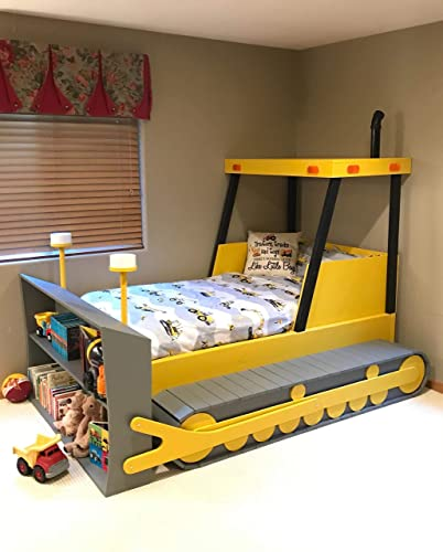Amazon Com Bulldozer Bed Plans Handmade
