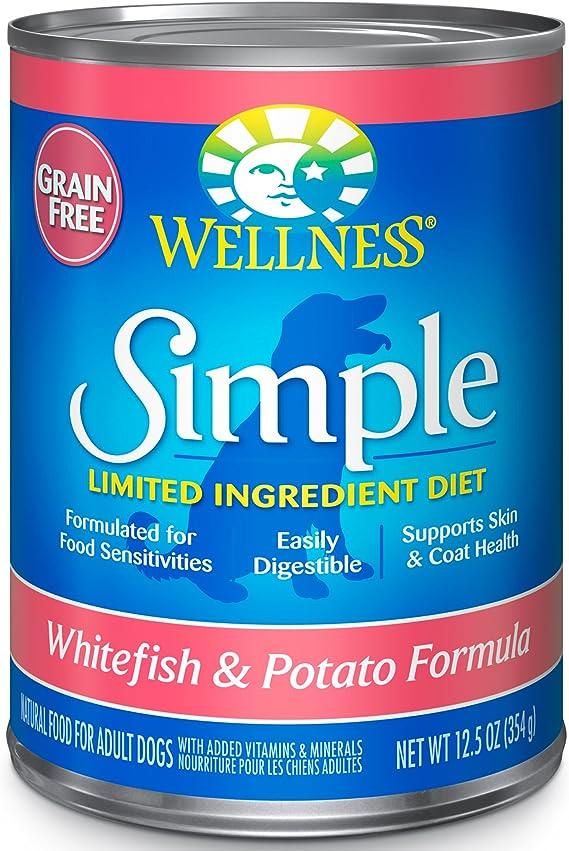 wellness simple limited ingredient diet grain-free healthy