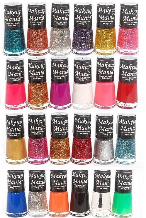 Buy Makeup Mania Exclusive Nail Polish Set (Multicolor No.71, 73 ...