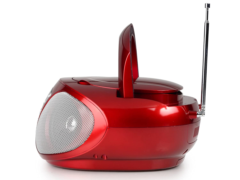 Radio CD Digital, FM,PLL, Jugador, CD, 6 W, LCD AudioSonic CD-1568 Radio est/éreo