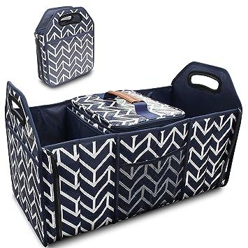 Amazon.com: Organizador de maletero, bolsa de almacenamiento ...