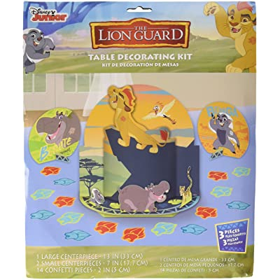 amscan Disney The Lion Guard Table Decorating Kit, Party Favor: Toys & Games