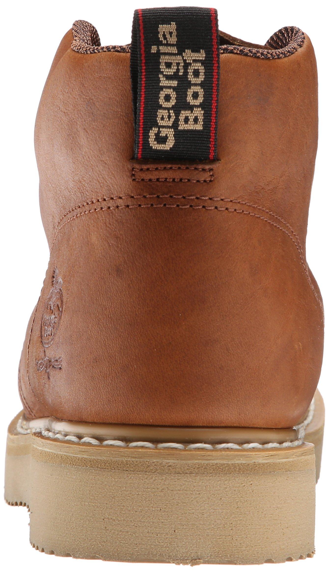 Georgia Boot Men's GB1222 Chukka Boot,Barracuda Gold,9.5 W US by Georgia (Image #2)