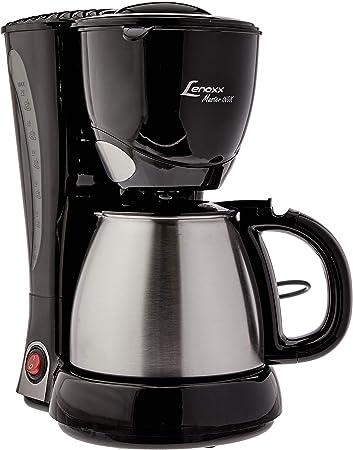 Cafeteira Elétrica Lenoxx Master Inox Preto 110v - Pca 023