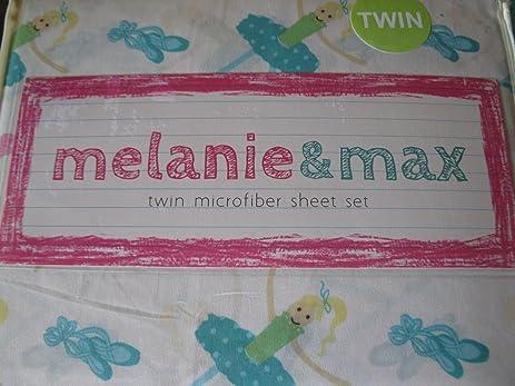 Melanie & Max Twin Sheet Set - Ballerinas & Ballet Slippers HhAXbKoZS2