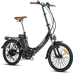 Bici eléctrica plegable MOMA