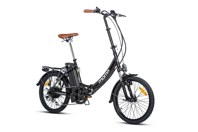 Moma bikes bicicleta eléctrica plegable