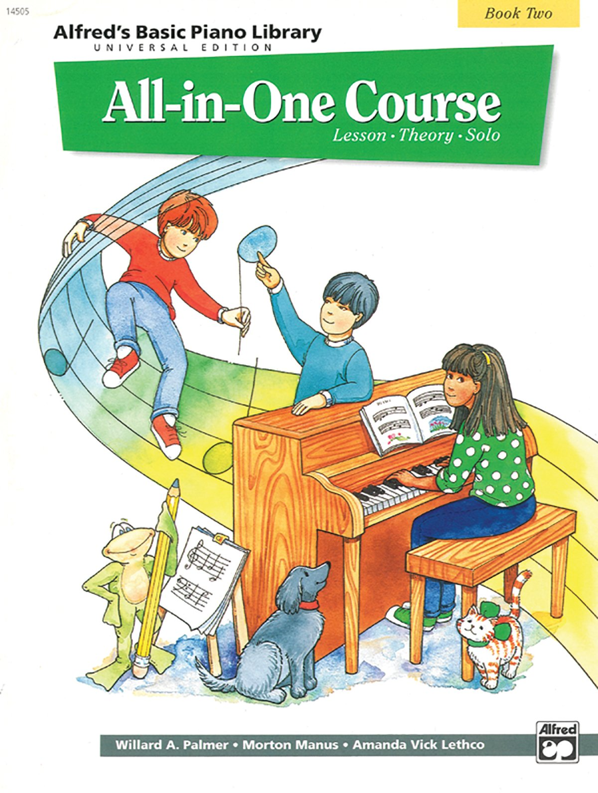 Alfreds Basic All In One Course Bk 2 Lesson Theory Solo Universal Edition Piano Library Amazoncouk Willard Palmer