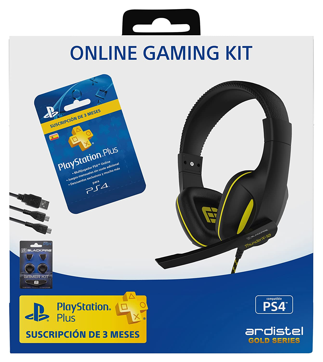 Ardistel - Online Gaming Kit Dual A3 (PS4) - Gaming Headset ...