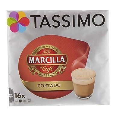 Cápsulas Tassimo Marcilla - Cortado - 80 Bebidas