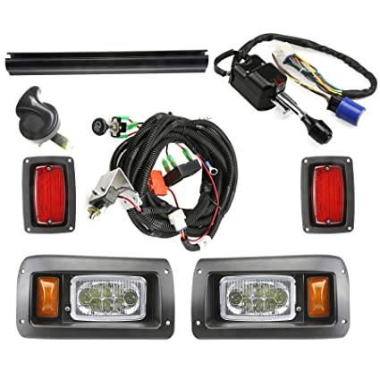 Phenomenal Amazon Com 13Autosupply Club Car Ds Deluxe Led Light Kit 1993 And Wiring Digital Resources Remcakbiperorg