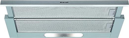 Campana extractora telescópica Brandt AT1349X: Amazon.es: Grandes electrodomésticos