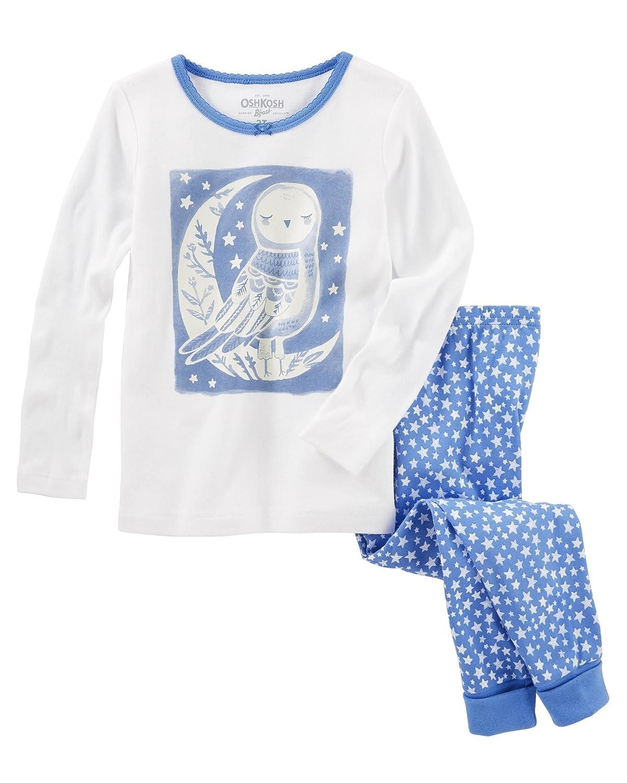 OshKosh BGosh Girls 2-Piece Snug Fit Cotton PJs