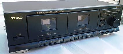Amazon com: Teac W410 Stereo Double Cassette Tape Deck
