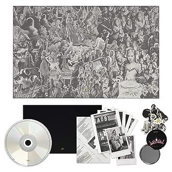 BLACKPINK ROSE 1st Single Album [-R-] CD + Photobook + Lyrics Paper + Sticker Set + Postcard + Polaroid + OFFICIAL POSTER