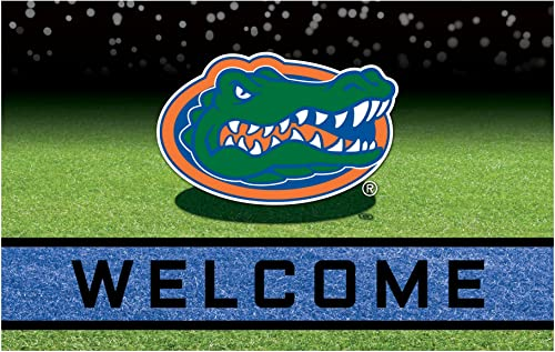NCAA University of Florida Gators Heavy Duty Crumb Rubber Door Mat