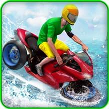 Water Surfer Bike Rider 3D