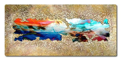 Abstrakte Malerei Mit Metall Und Struktur Original Gemalde
