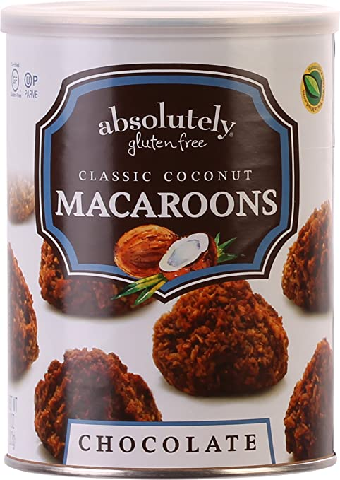 Absolutely Gluten Free Coconut Macaroons (Chocolate, 2 Pack)