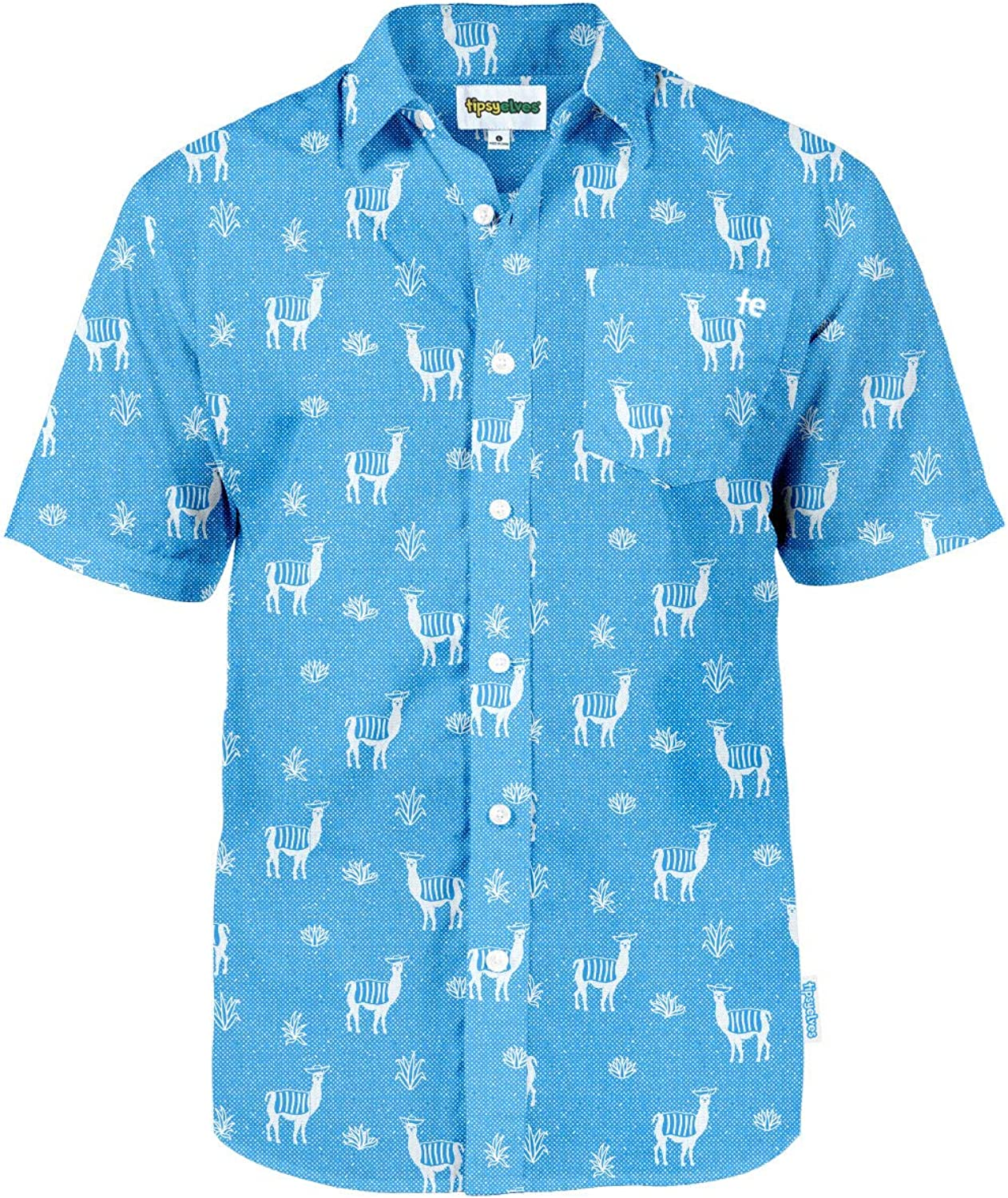 Men's Bright Hawaiian Shirt for Spring Break and Summer - Funny Aloha Shirt for Guys