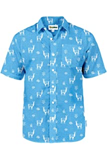 7df68ffef9e8 Men's Bright Hawaiian Shirt for Spring Break and Summer - Funny Aloha Shirt  for Guys