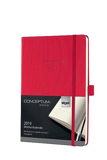 Amazon.com: Sigel Conceptum c1964 A5 Tapa Dura rot 2019 ...
