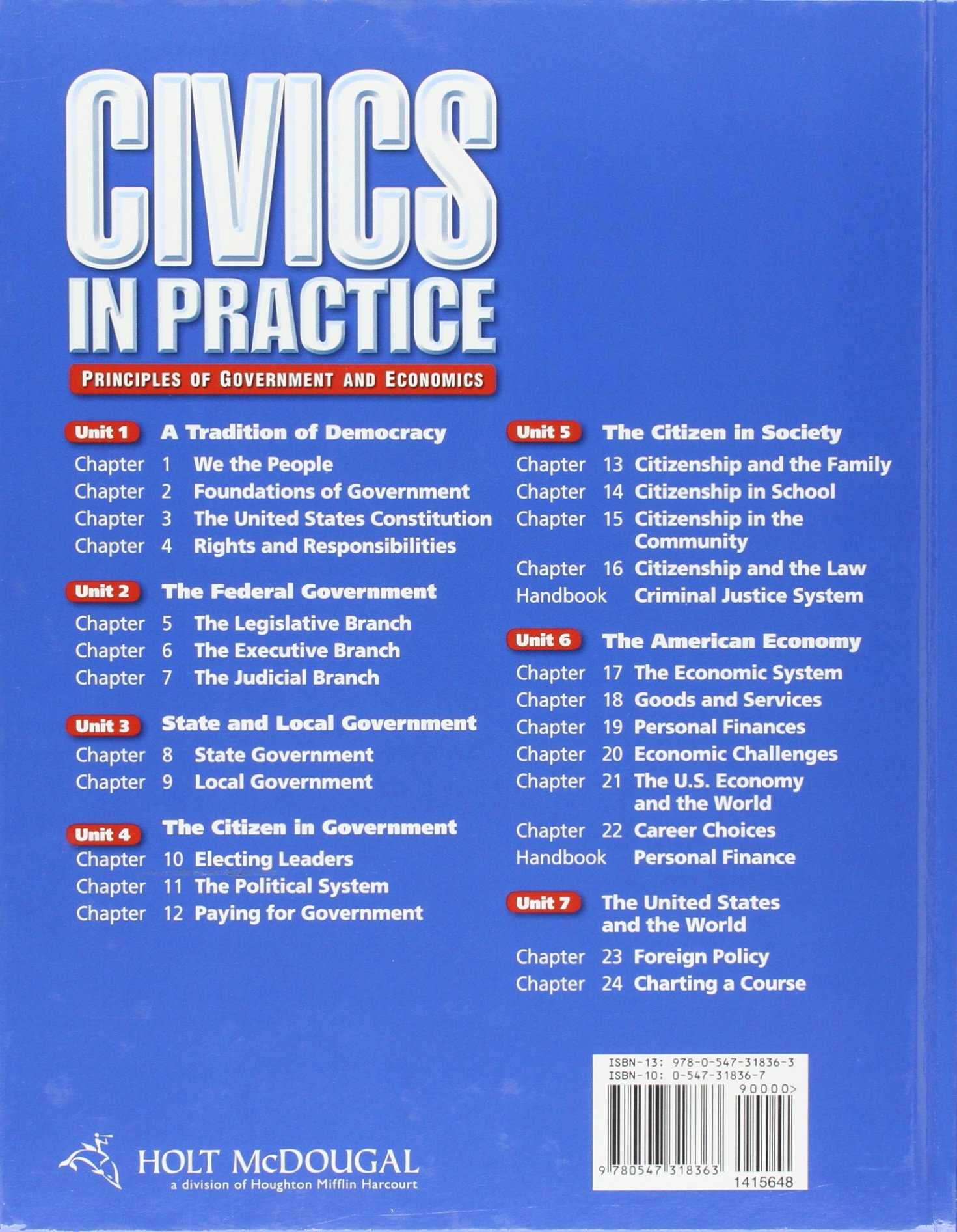 Amazon com: Civics in Practice: Student Edition 2011