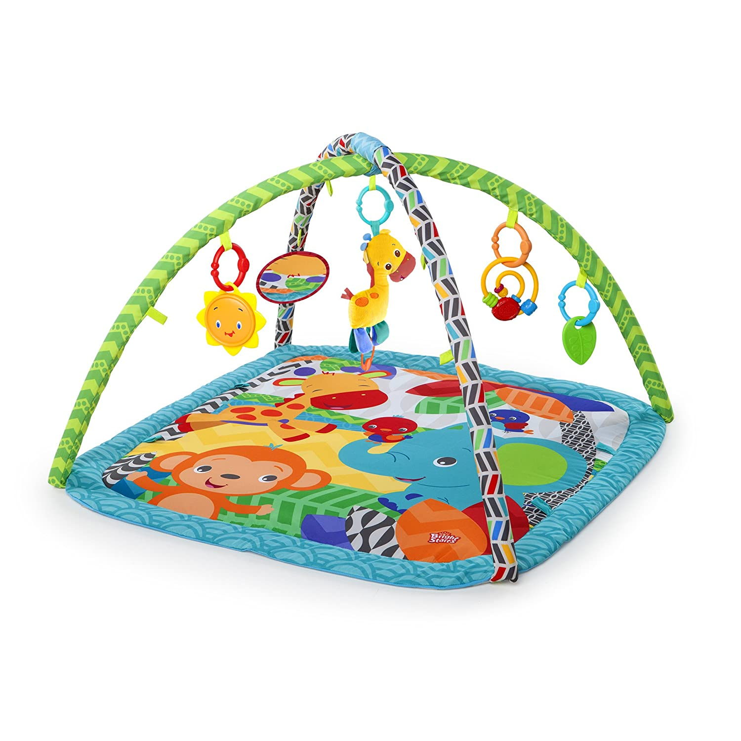 Bright Starts Charming Chirps Activity Gym, Pretty In Pink Kids II 52170