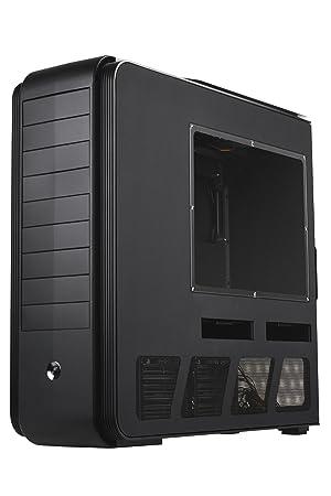 Silverstone TJ11B-W Full-Tower Negro Carcasa de Ordenador ...