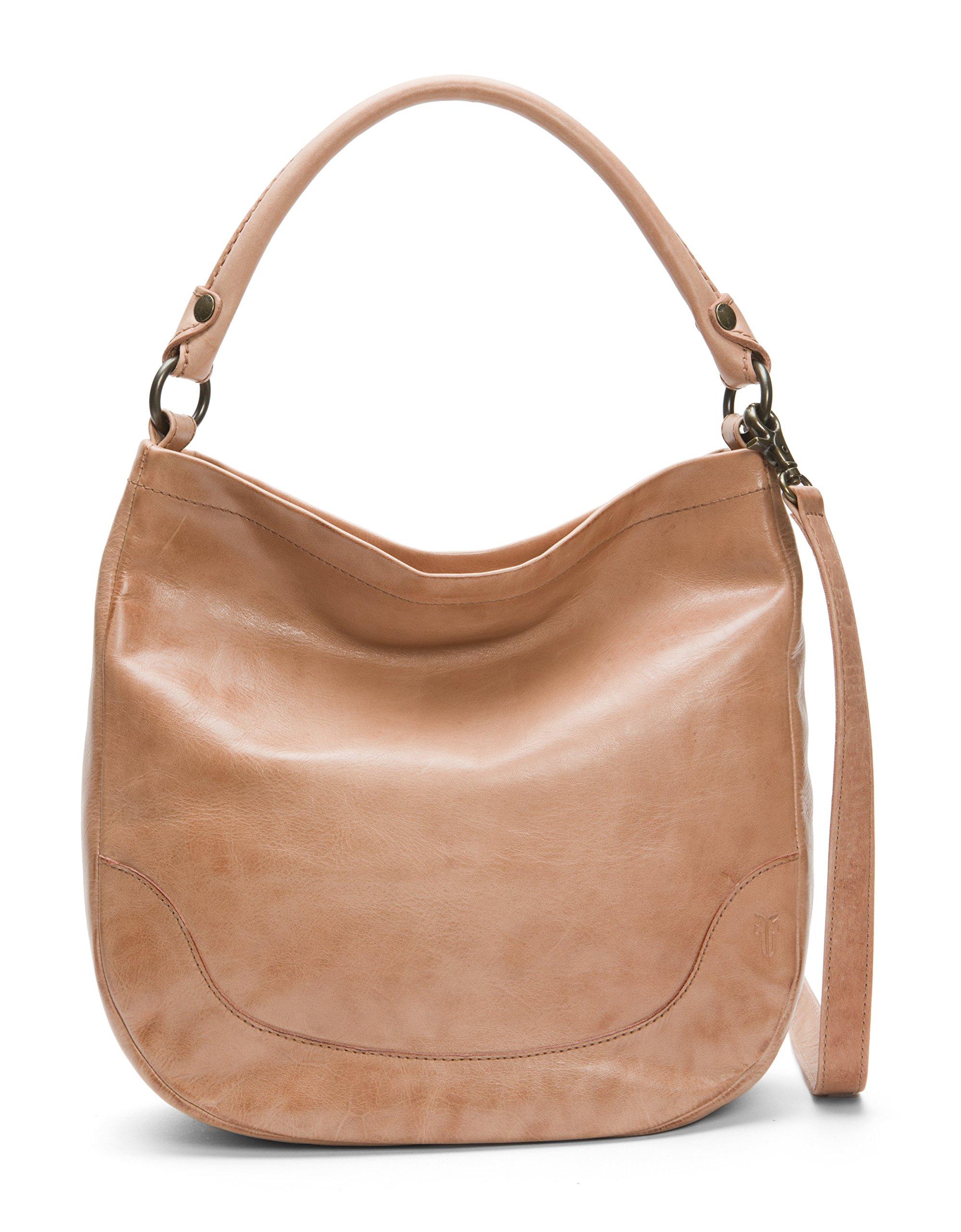 FRYE Melissa Hobo Leather Handbag, dusty rose