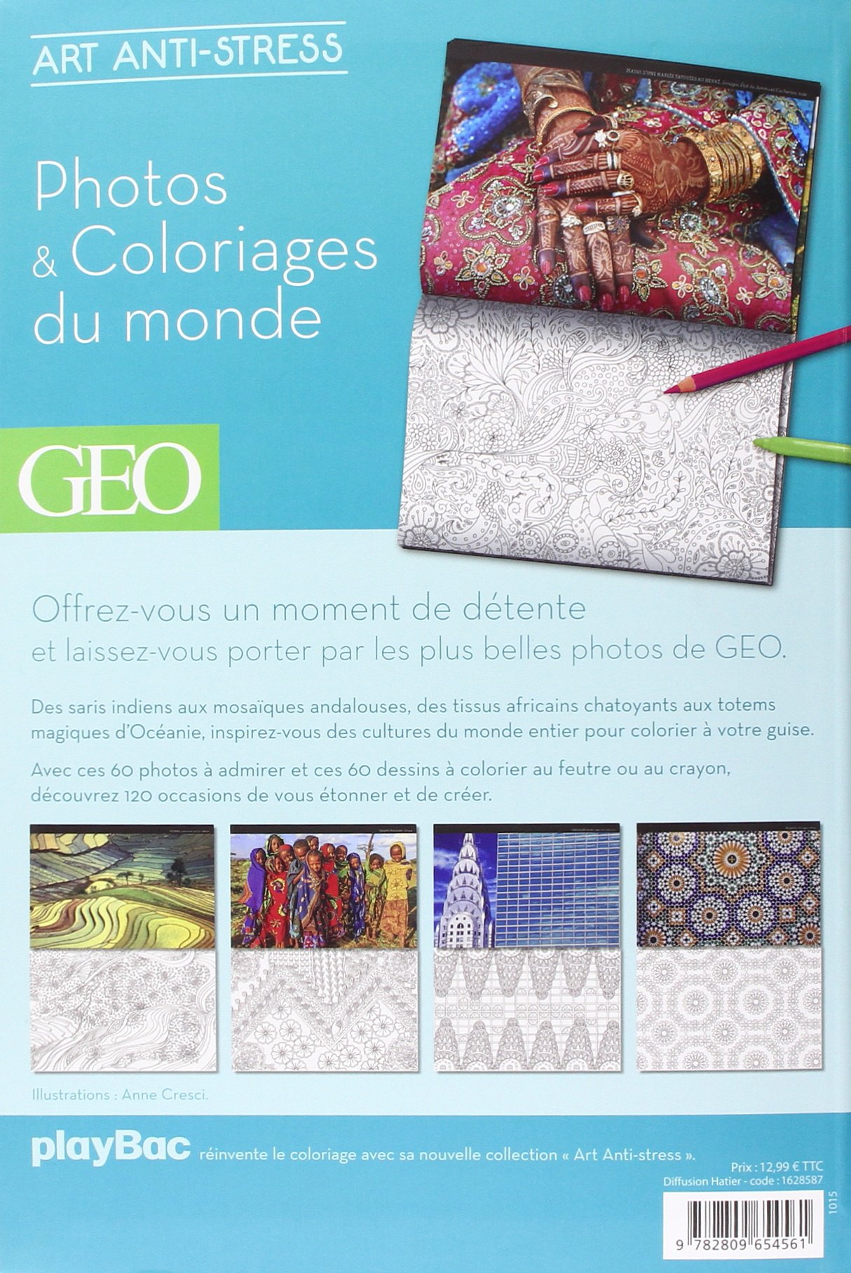 coloriage anti stress geo