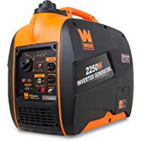 WEN 56225i Super Quiet 2250 Watt Gas-Powered Portable Inverter Generator with Fuel Shut-Off