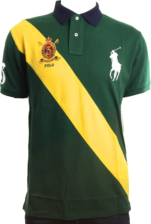 Polo Ralph LaurenCUSTOM FIT - Polo - Mountain Green: Amazon.es ...