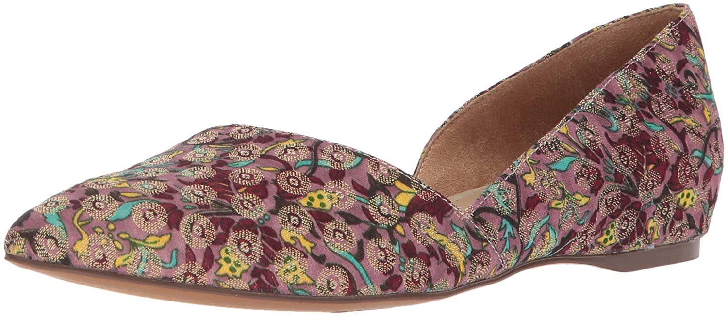 Naturalizer Women's Samantha Pointed Toe Flat B0756SW9Y1 11 N US|Brocade