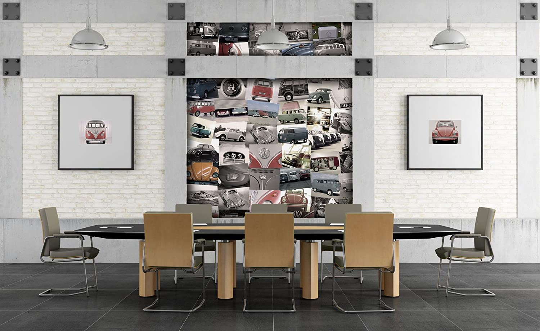 1Wall C64P - VW 001 CREATIVE Collage Volkswagen Photo Wallpaper ...
