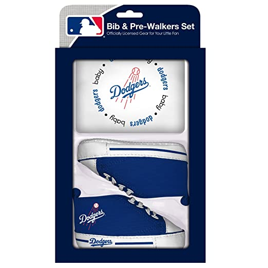 Amazon.com  Baby Fanatic MLB Velcro-Closure Bib and High-Top Pre-Walker  Set 07b83e4549a