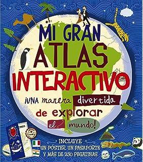 Mi gran atlas interactivo (Castellano - A Partir De 8 Años - Libros Didácticos -