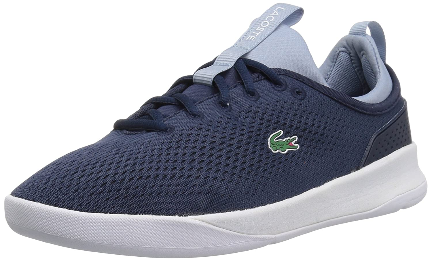 Lacoste Women's LT Spirit 2.0 118 1 SPW Sneaker B071GQ3J4R 6 B(M) US|Nvy/Light Blue