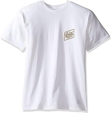 BRIXTON – Camiseta para Hombre Bedford estándar, Hombre, Bedford Standard: Amazon.es: Ropa y accesorios