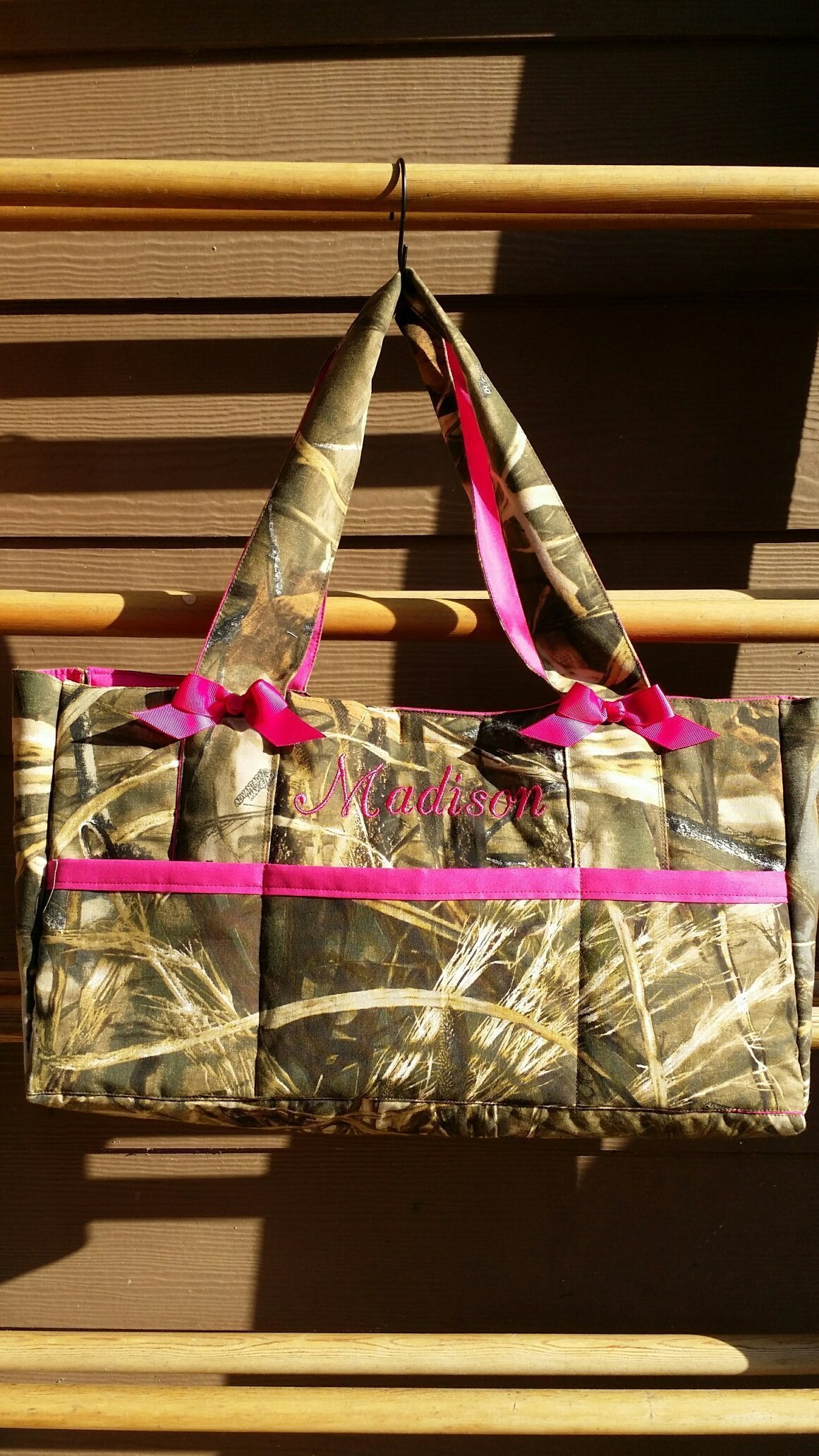 Diaper bag, baby bag, Camouflage, custom 6 pocket bag with Name embroidered-custom, personalized- washable, embroidered,monogrammed