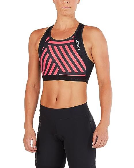 38e2214ca3430 Amazon.com   2XU Womens Perform Tri Crop   Sports   Outdoors