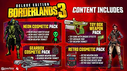 Borderlands 3 Deluxe Edition for Xbox One [USA]: Amazon.es: Take 2 ...