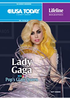 Lady Gaga: Pops Glam Queen (USA Today Lifeline Biographies)
