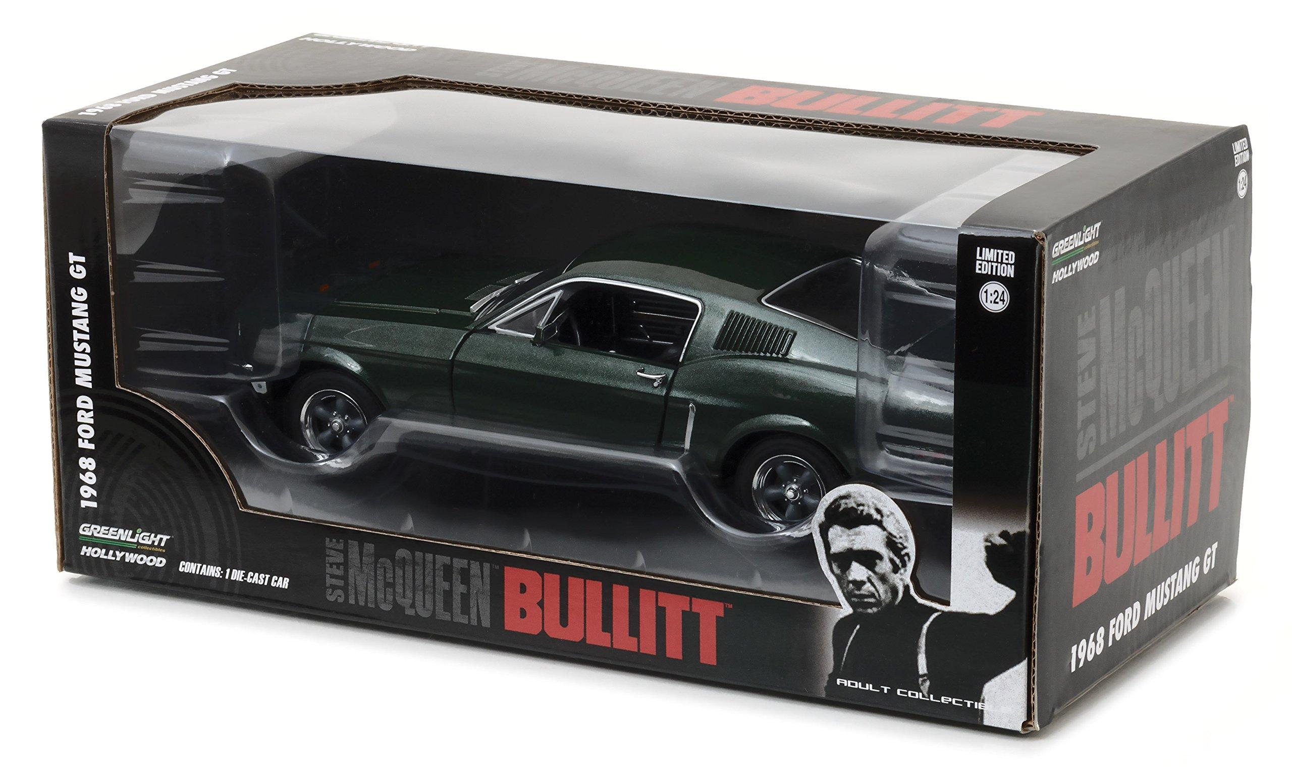 Greenlight - (1:24 Scale Bullitt (1968) - 1968 Ford Mustang GT Fastback - 84041 by Greenlight (Image #2)