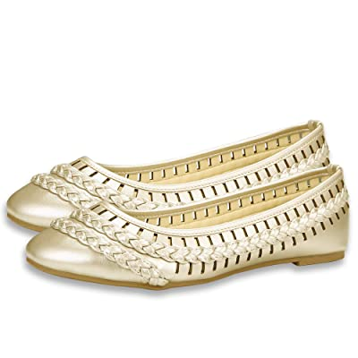Not for Sell Shoes Gold   Flats