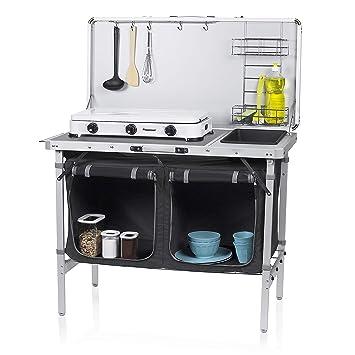 Campart Travel KI 0757 Outdoor Kitchen Granada U2013 Complete Kitchen U2013 Storage  Bag Included