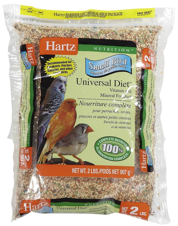 Hartz mountain 3270097754 dieta nutrizione universale per piccoli uccelli