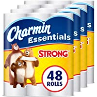 48-Pack Charmin Essentials Strong 1-Ply Toilet Paper